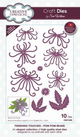 CREATIVE EXPRESSIONS Cut Mounted SINGLES Stamps FOLIAGE FRAME Congratulations