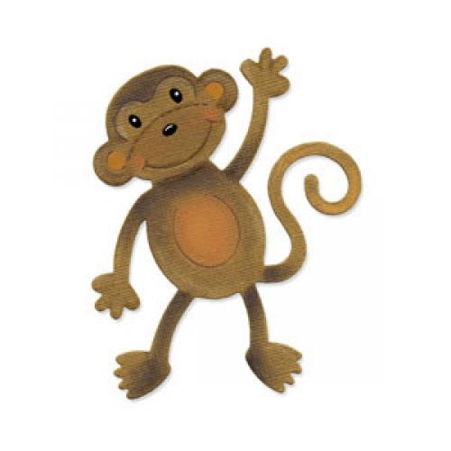 Sizzix Original Die-Monkey#2